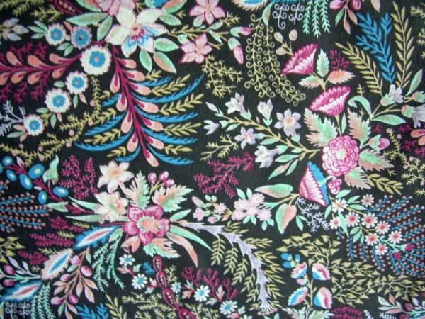 Vintage Art Deco Fabric