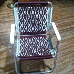 Macrame Lawn Chair Egg Garden Cover