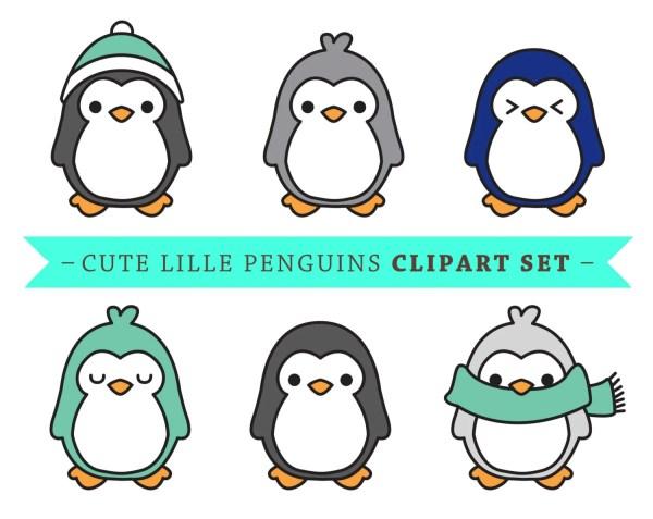 Premium Vector Penguin Clip Art Cute