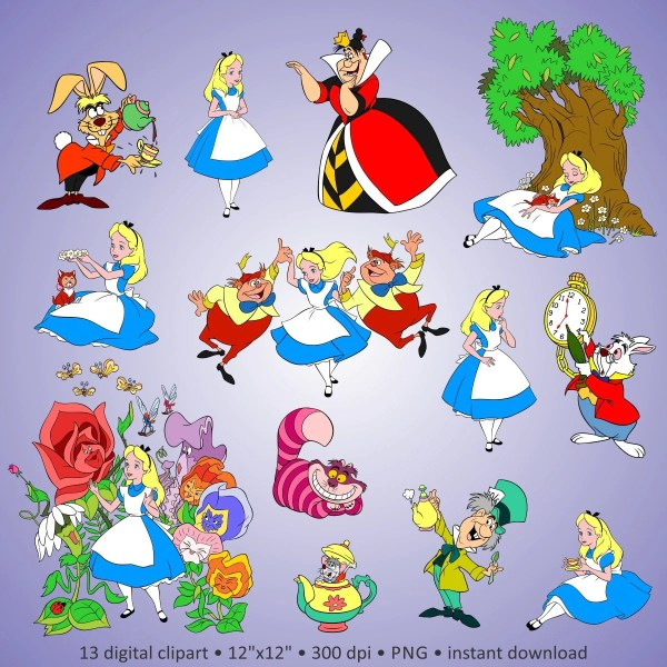 2 1 Free Digital Clipart Alice
