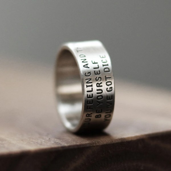 Word Ring Love Message Promise