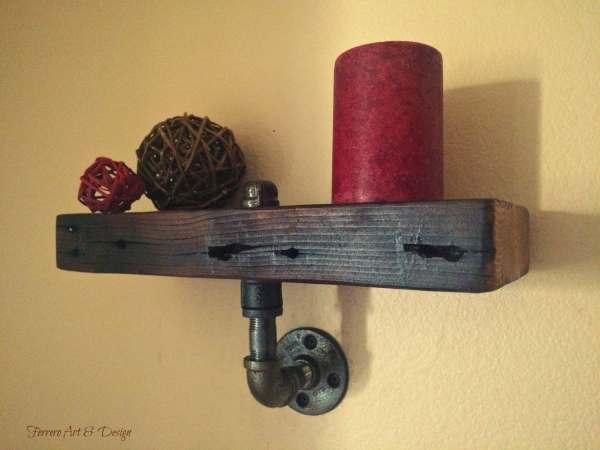 Steampunk Shelf Wall Decor Ferreroartdesign