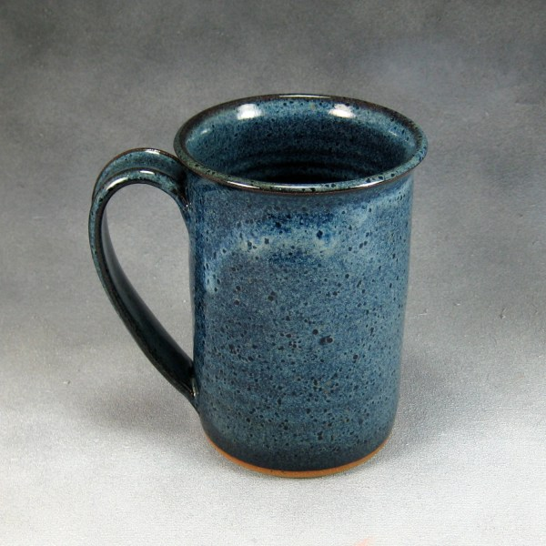 Pottery Coffee Mug 14 16 Ounce Denim Blue Ceramic Coffee