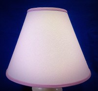 Solid Lavender Lamp Shade