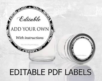 Editable Thank You Tags Editable Gift Tags Editable Labels