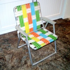 Aluminum Web Lawn Chairs Wicker Outdoor Melbourne Vintage Childs Chair Webbed Multi Color Folding
