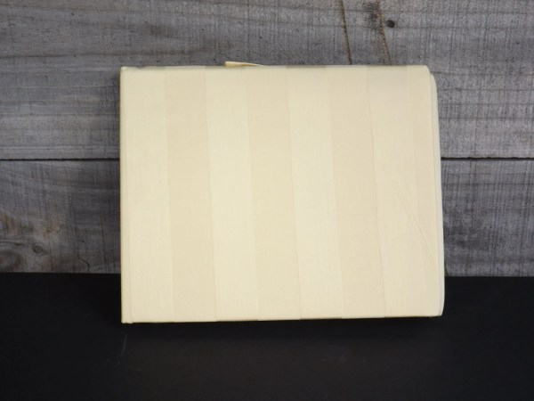 Vintage Twin Yellow Buttercup Bedskirt 15 Drop Woven