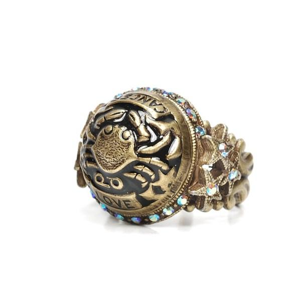 Zodiac Ring Aquarius Capricorn
