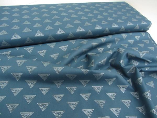 Art Fabrics Prism Element Sapphire Sparkle Metallic