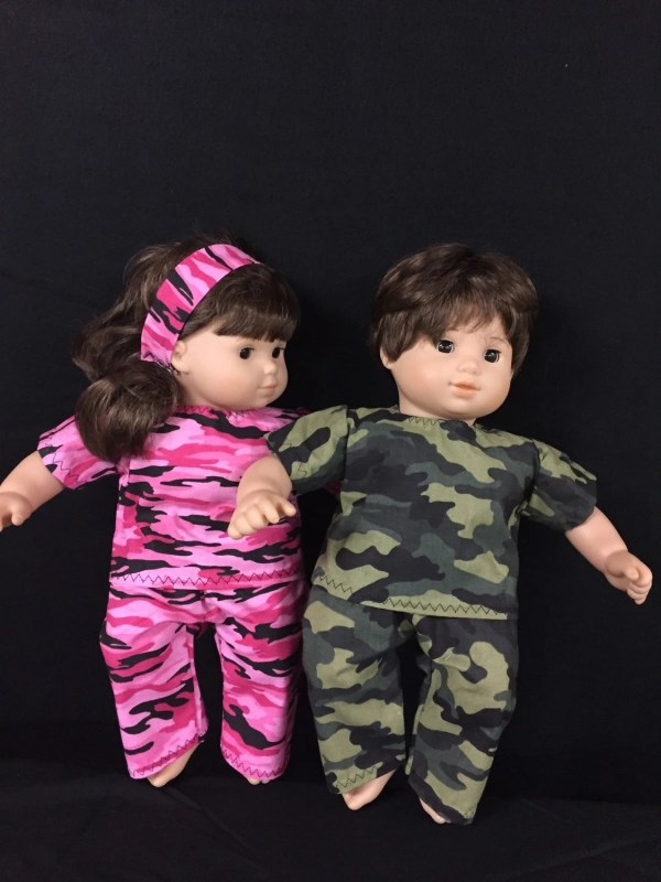 Doll Clothes Bitty Baby Girl And Boy Twin Dolls Pink