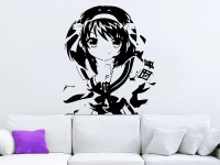 ANIME Decal Wall Decals Vinyl Stickers Girl by SuperVinylDecal