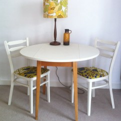 Upcycled Dining Room Chairs Kids Tables And Vintage Drop Leaf Table