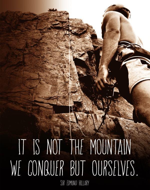 Rock Climbing Quotes. Quotesgram