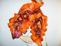 Thanksgiving Leaves Scarves for Women Page Two ...