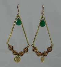Bohemian Chandelier Earrings Unique by BeadtifulDesigns on ...