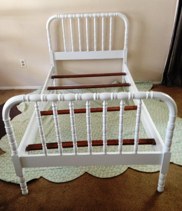 Antique Jenny Lind Twin Bed Antique2chic