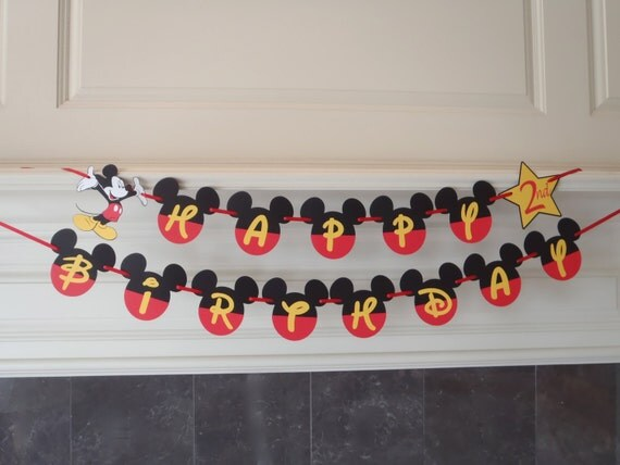 cumpleaños mickey ideas