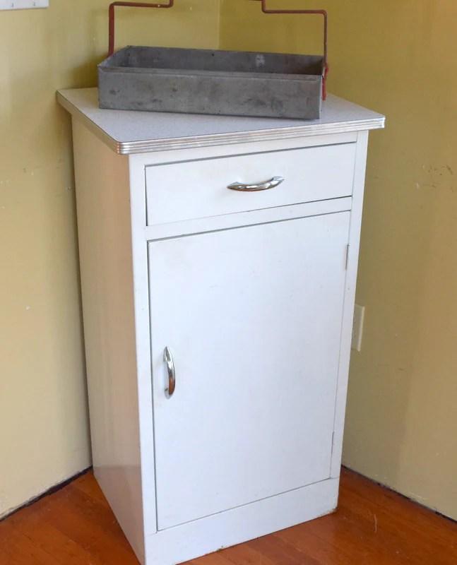 Jennifer reserved Metal Kitchen Cabinet, Mid Century ...