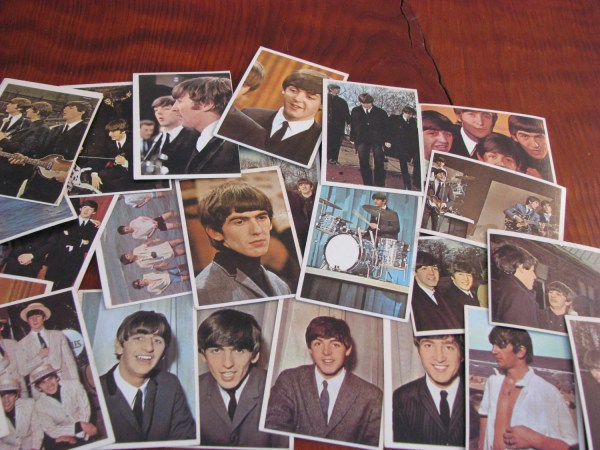 Beatles 1964 Topps Color Cards