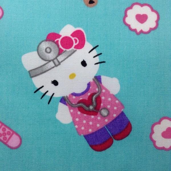Yard Of Fabric Material Kitty Nurse Cotton