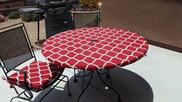 Fitted Tablecloth In Red And White Brittaleighdesign