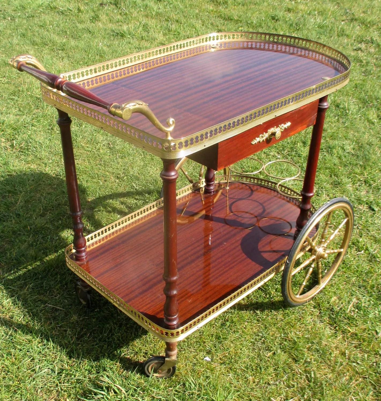 Vintage Serving Cart Bars