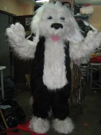 Shaggy Dog Mascot Costume Adult Costume by AdultMascotCostumes