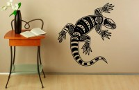 Tribal Lizard Wall Decal Decals Vinyl Stickers Reptile