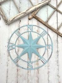 Nautical Wall Decor Metal Compass Wall Art Nautical Wall