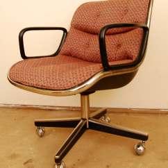 Swivel Chair Mid Century Art Studio Modern Desk By Charles Pollock For