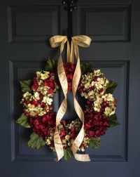 Beautiful Wreaths Blended Hydrangea Wreath by HomeHearthGarden