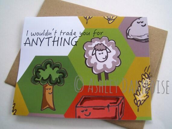 catan greeting cards