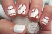 baseball nail art decals