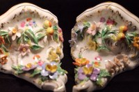 Capodimonte Floral Encrusted and Handpainted by ...