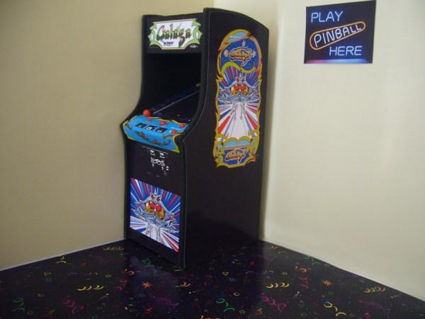 Galaga Miniature Arcade Machine Model 1 12th Scale