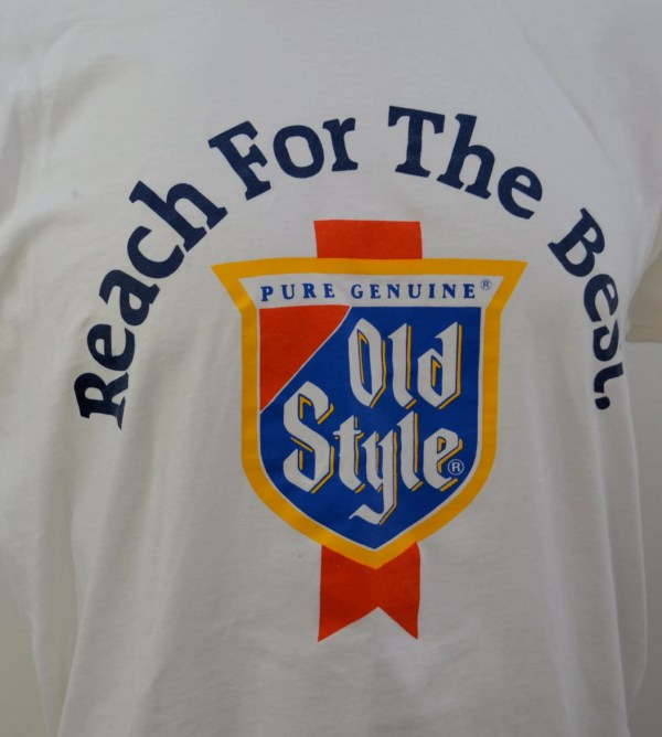 Vintage Style Beer T-shirt In Usa Size Large