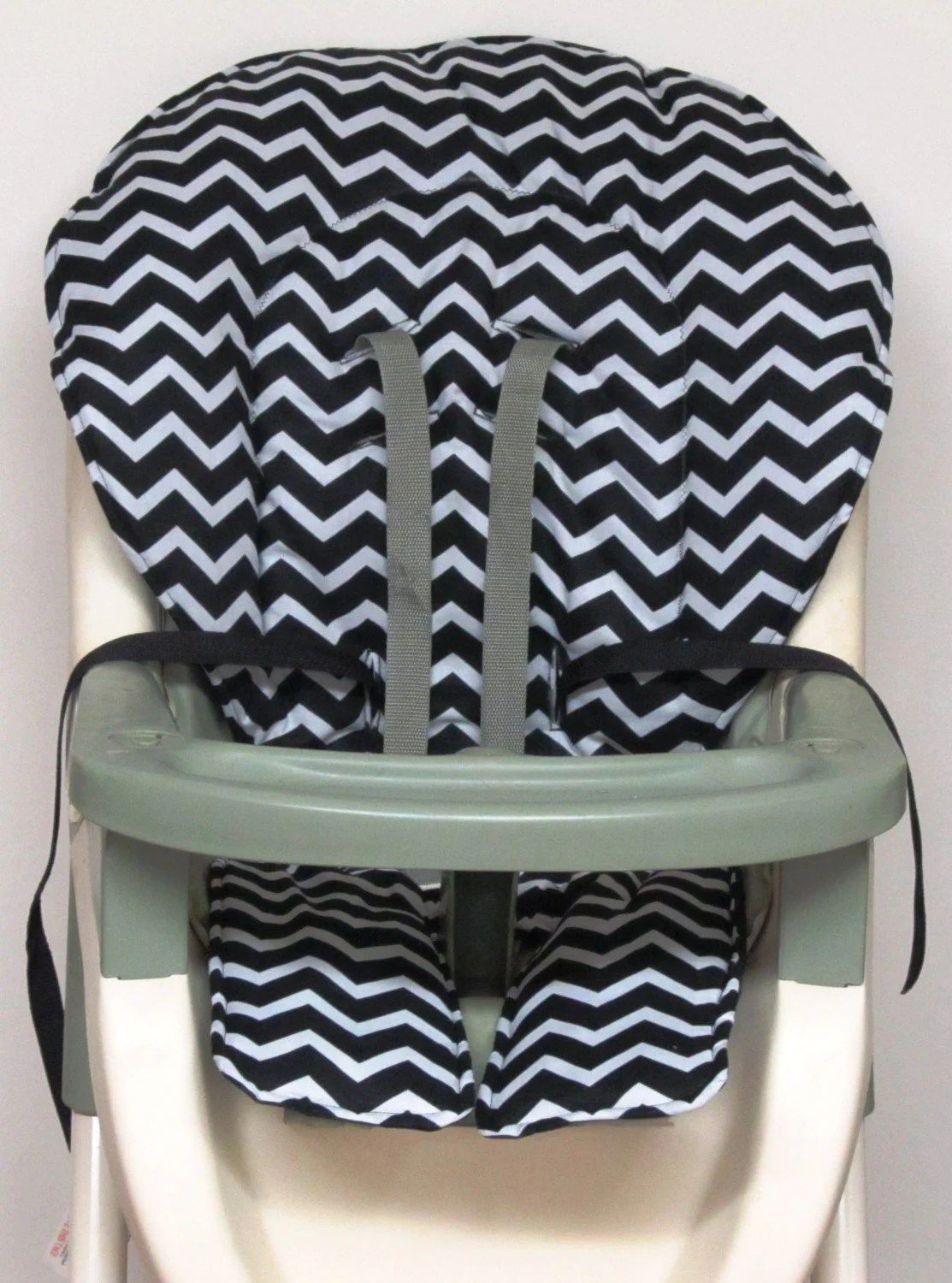 Chair Pad Covers Graco High Chair Cover Pad Replacement Black And Pale Gray