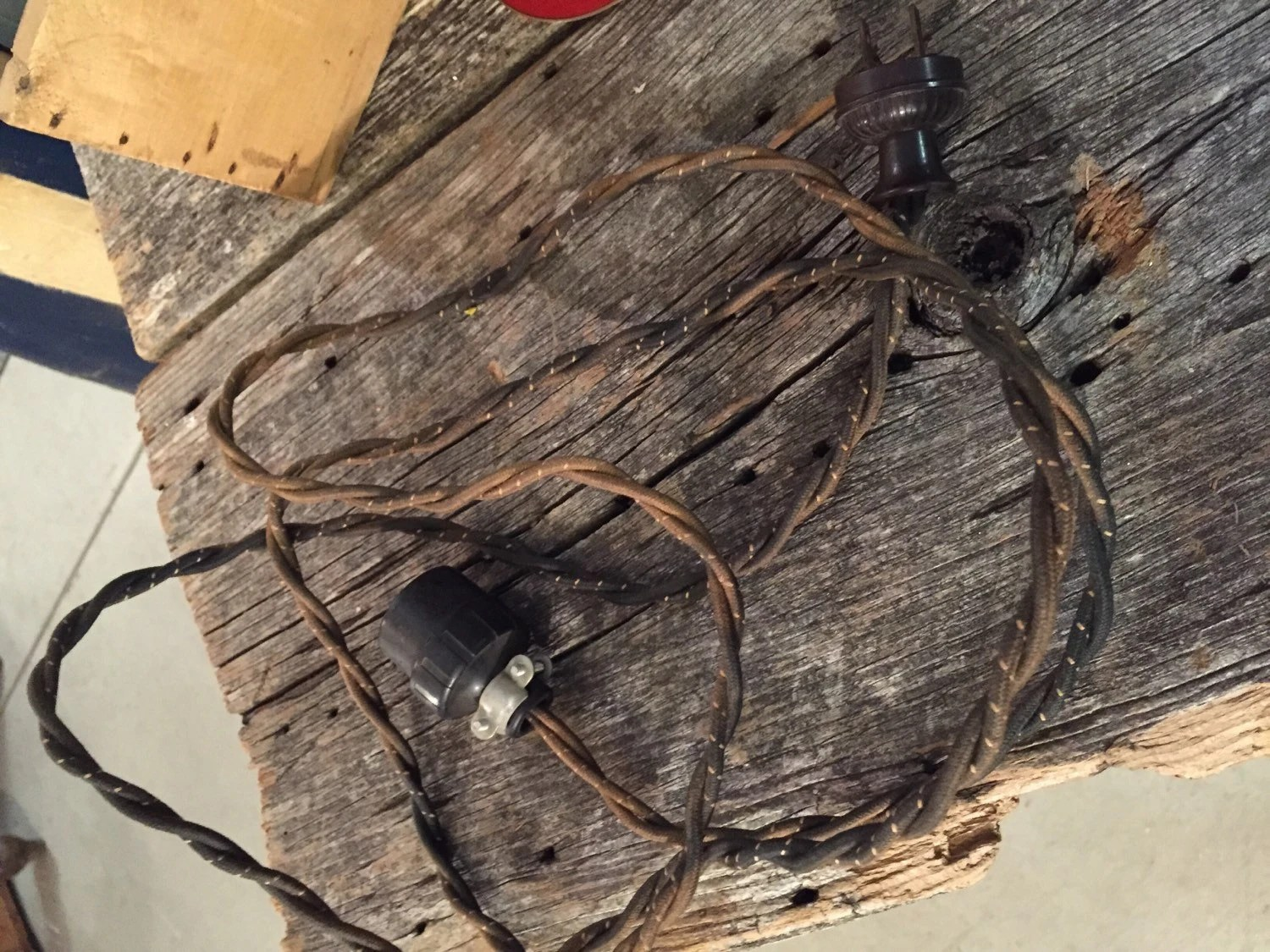 Antique Lamp Supply Cluster Sockets Lamp Cord Lamp Wire Wiring