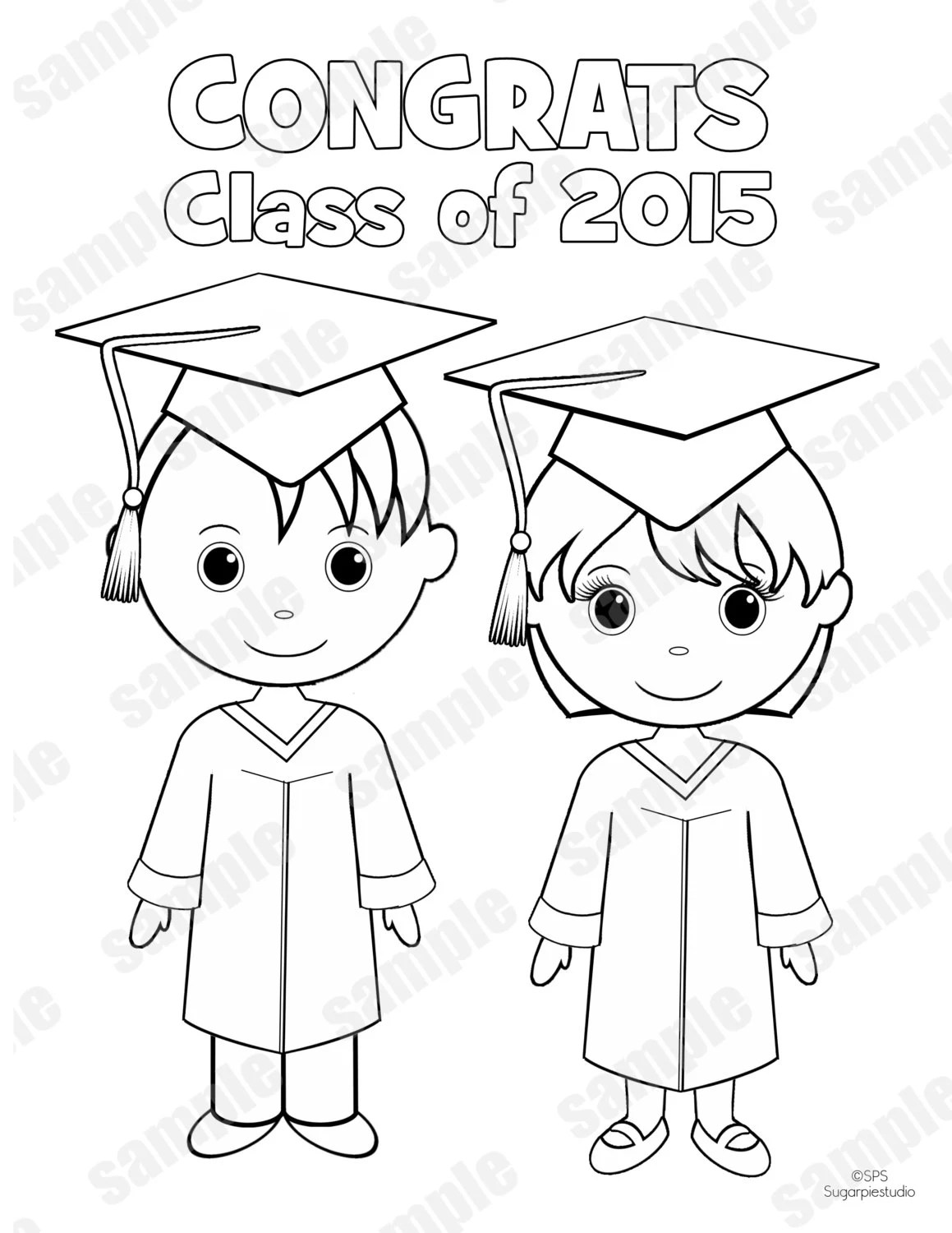 Handmade kindergarten graduation favors