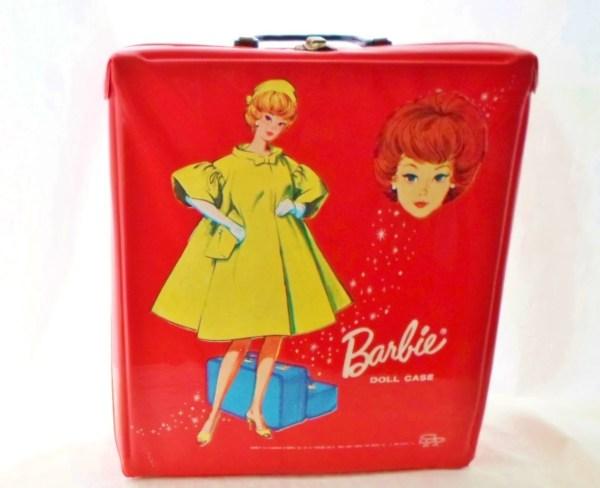 Vintage 1963 Mattel Barbie Doll Case Bright Debscountryvintage