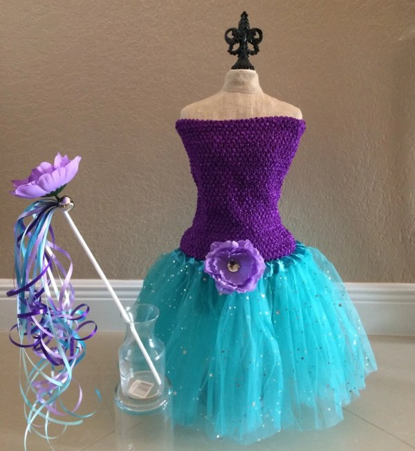Little Mermaid Costume Dress Fairy Costumeprincess