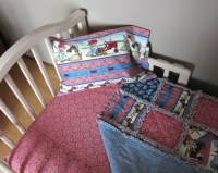 Toddler Bed CASE IH Baby Crib Bedding Set Rag Quilt by ...