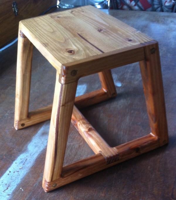 Simple Stool Table Step 12 X 14