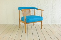 American of Martinsville Curved Back Arm Chair Mid Century