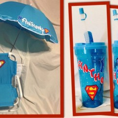 Toddler Beach Chair Personalized Coaster Swivel Kids With Umbrella And Matching Cup