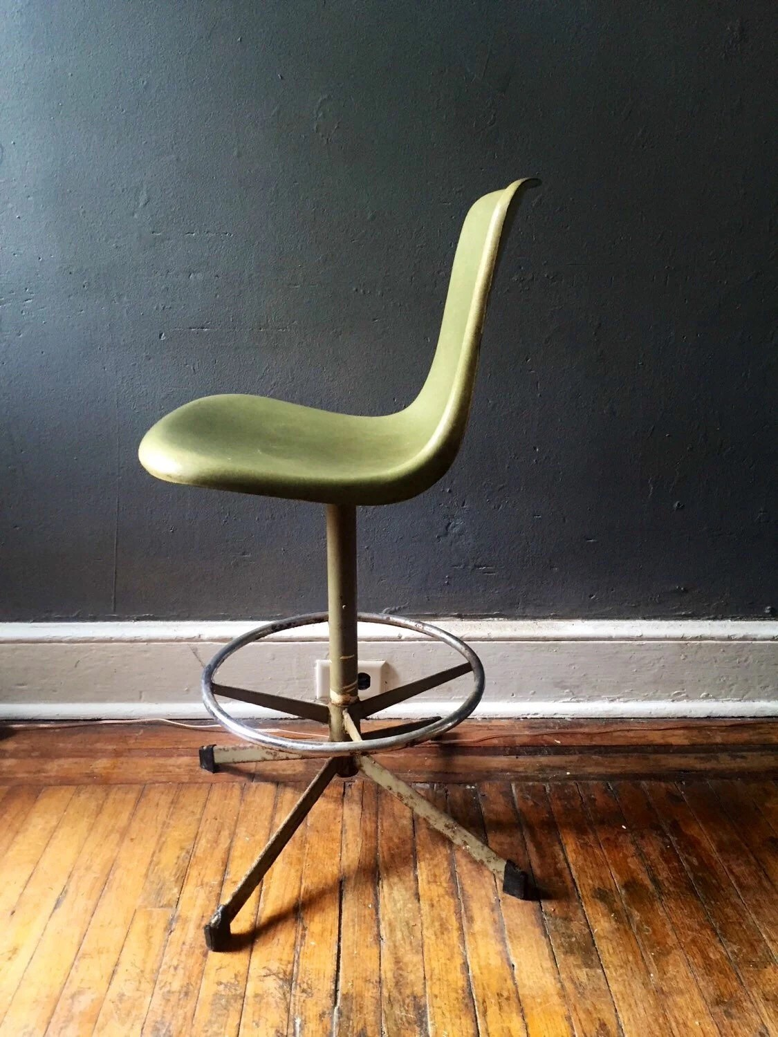modern drafting chair how to make pockets for the classroom vintage mid century atomic seating