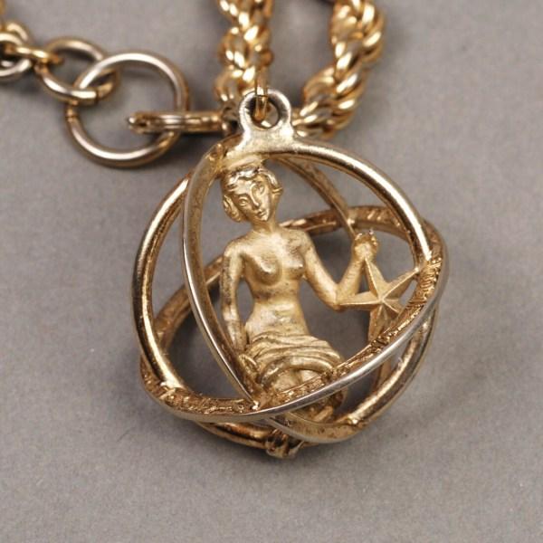 Trifari Virgo Bracelet Necklace Zodiac