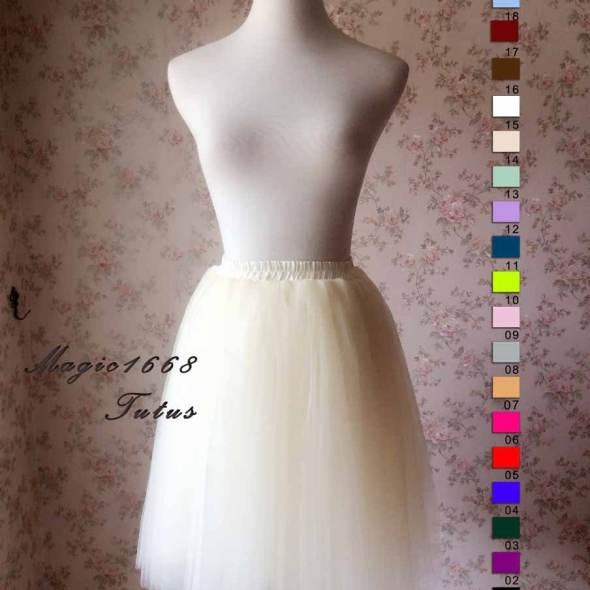 Plus Size Tutu Skirt Magic1668
