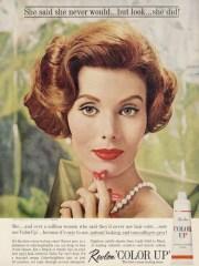 1961 revlon 'color ' tint rinse