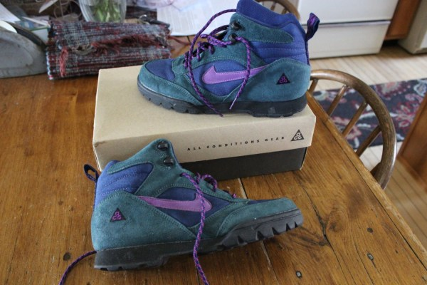 Vintage Nike Hiking Boots Women' 8.5 Conditions Gear